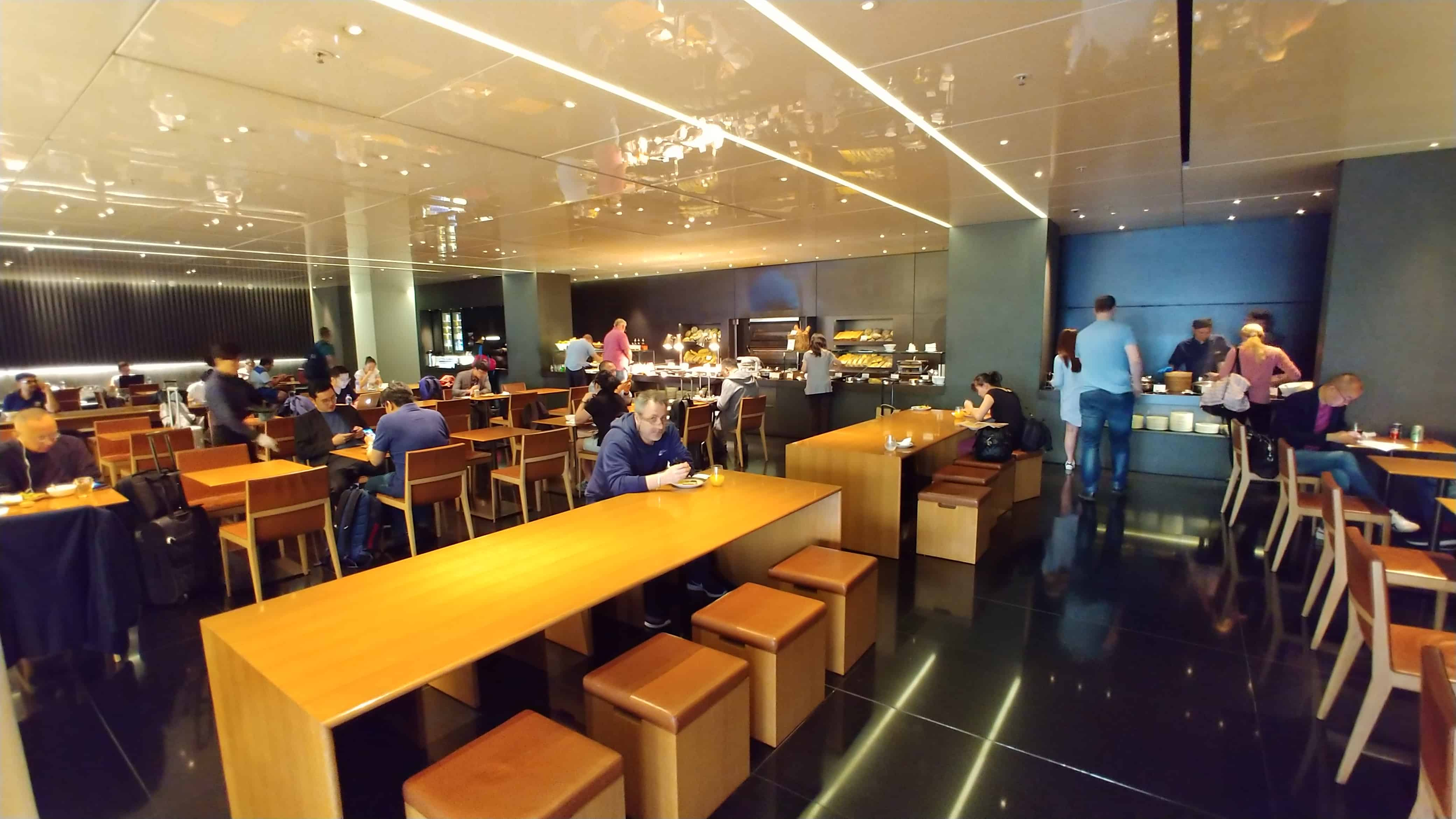 "Cathay Pacific ""The Bridge"" Business Class Lounge Hong Kong The Bakery"