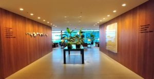 The Pier Business Class Lounge Entrance
