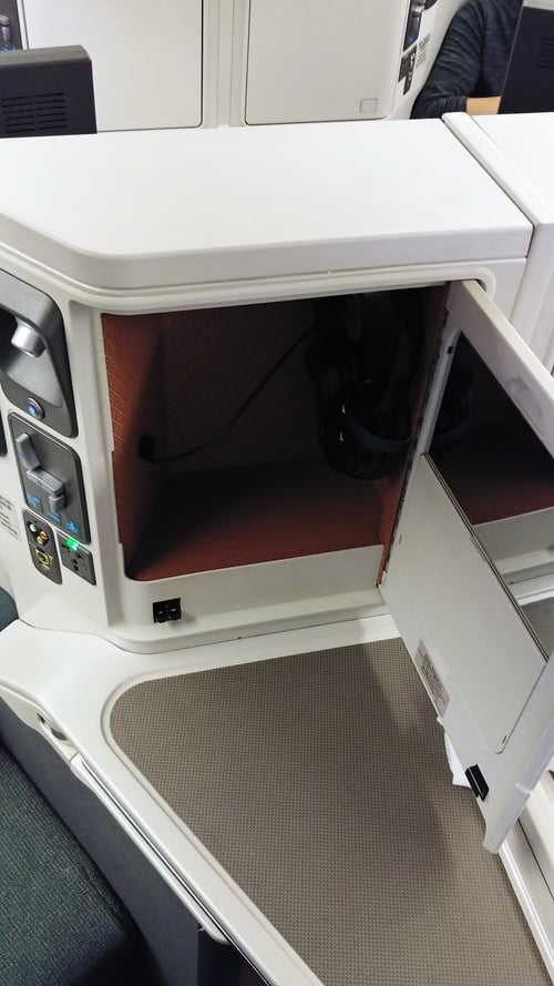 Cathay storage compartment