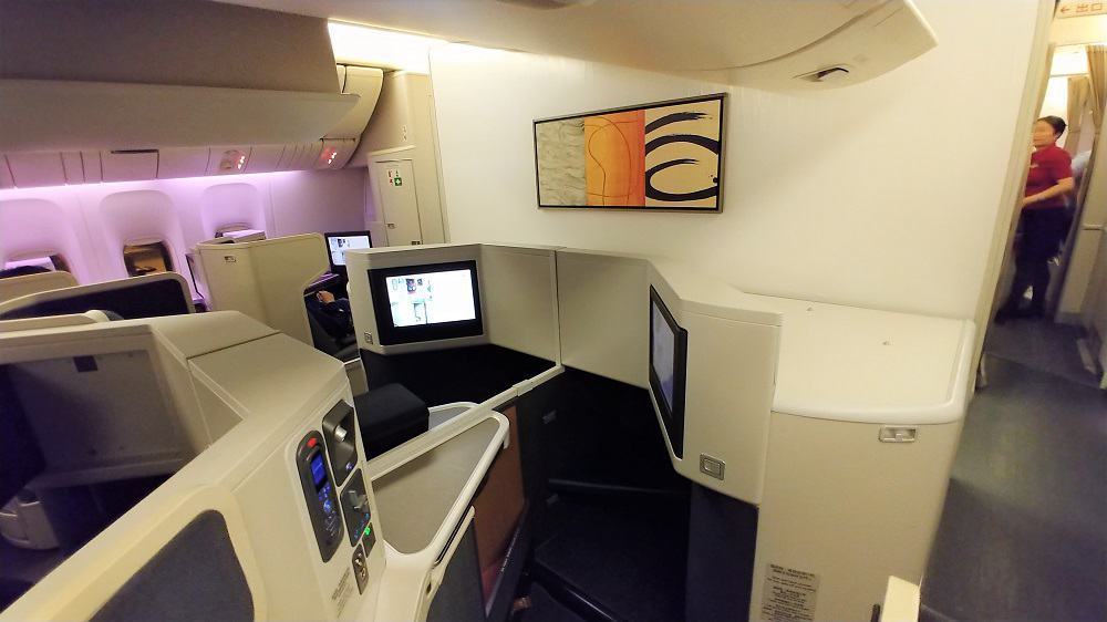 Cathay Pacific Business Class Seat 777-300ER