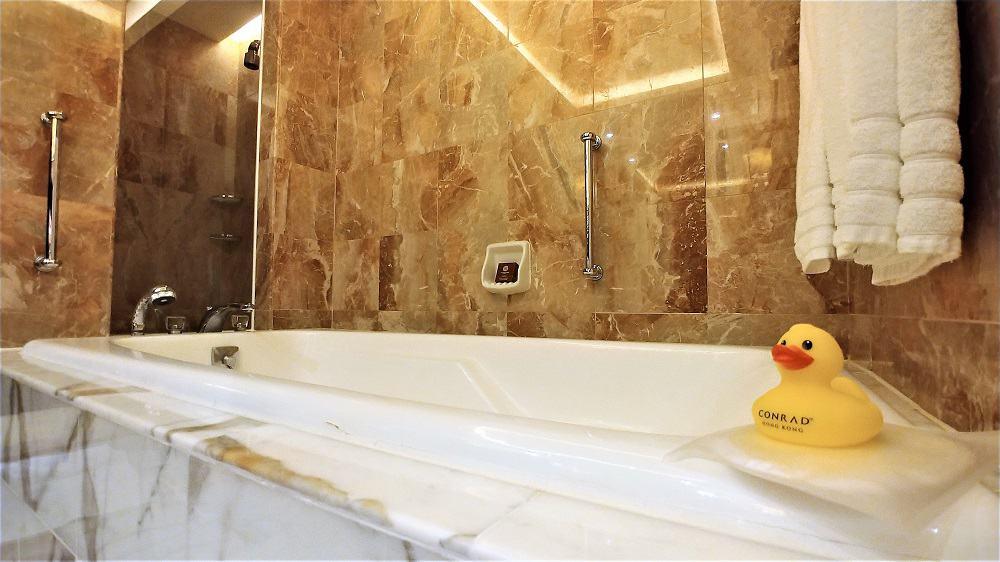 Conrad Hong Kong Bathtub