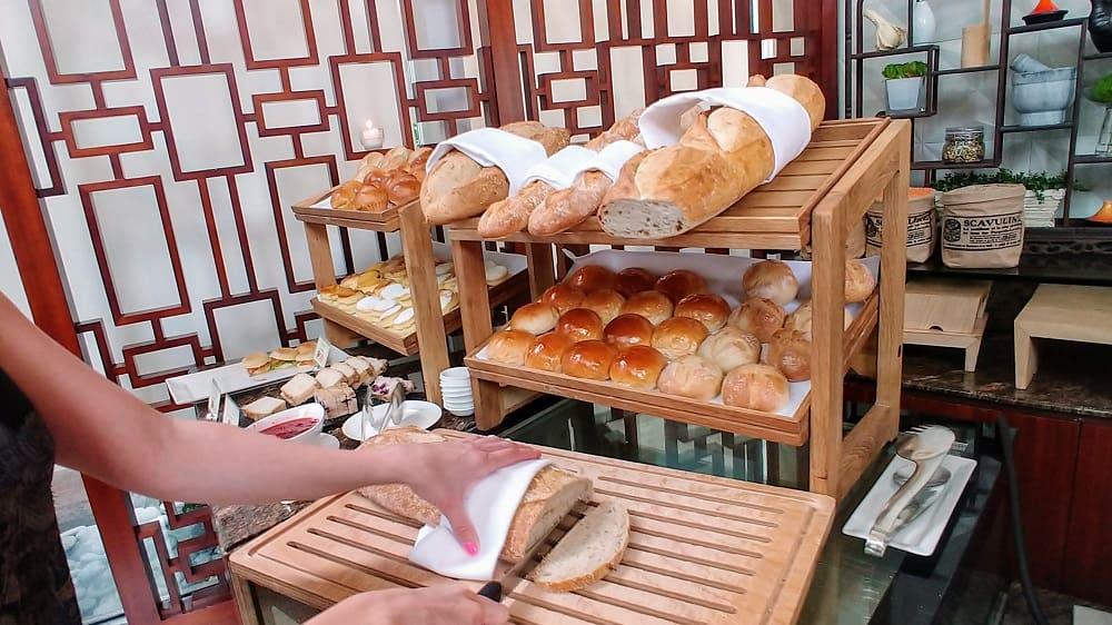 Conrad Hong Kong Garden Cafe Food