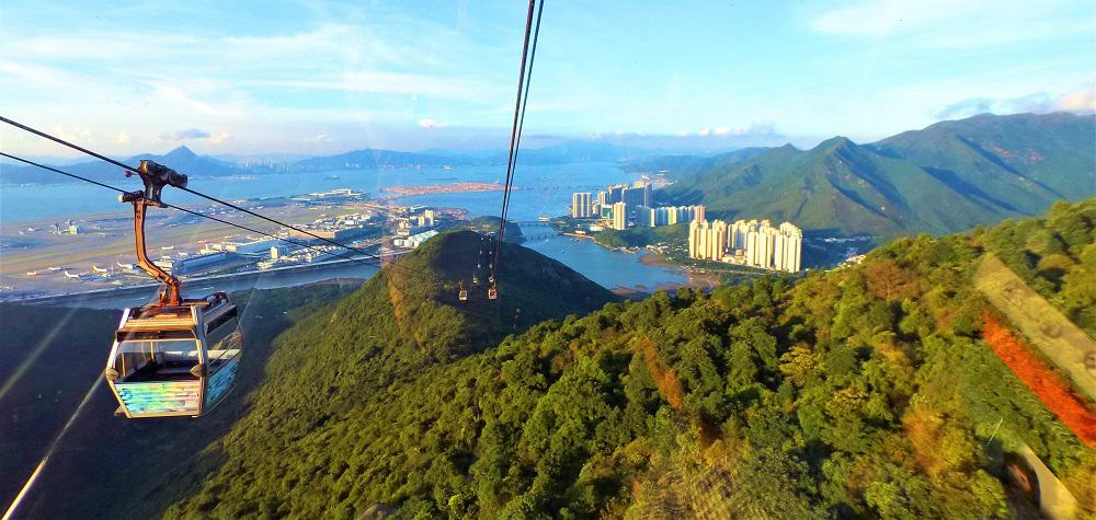 Ngong Ping Cable Car Views