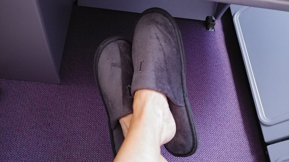 China Airlines Business Class Slippers