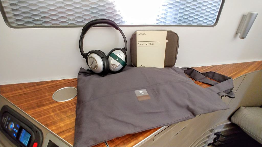 Cathay Pacific Amenities