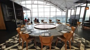 Qantas Lounge Hong Kong Tarmac View