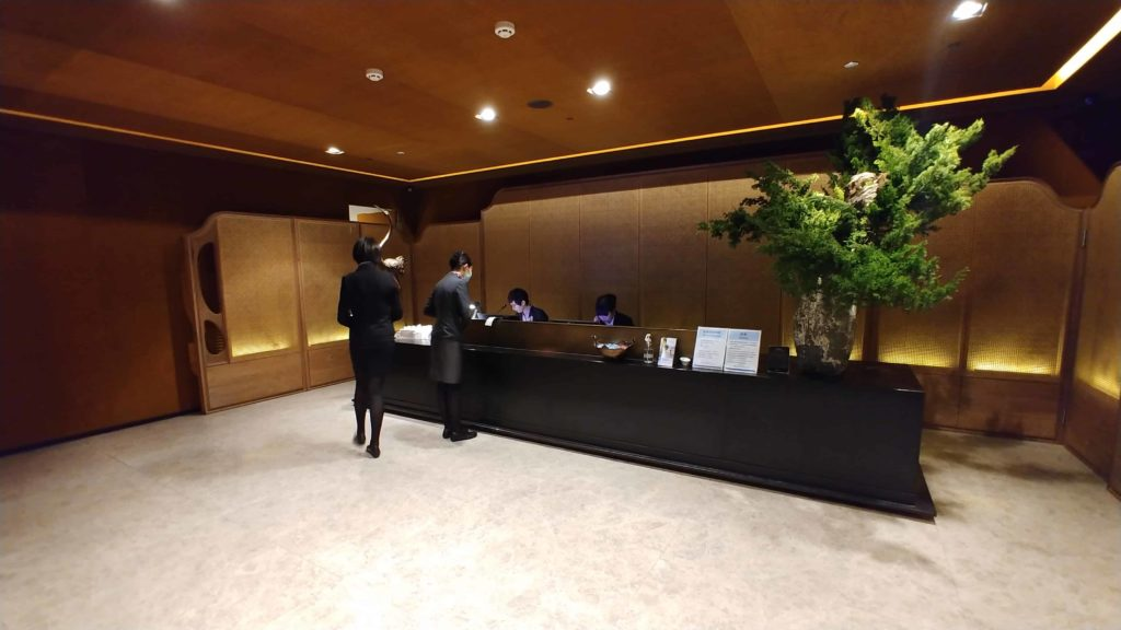 China Airlines Lounge Taipei Entrance