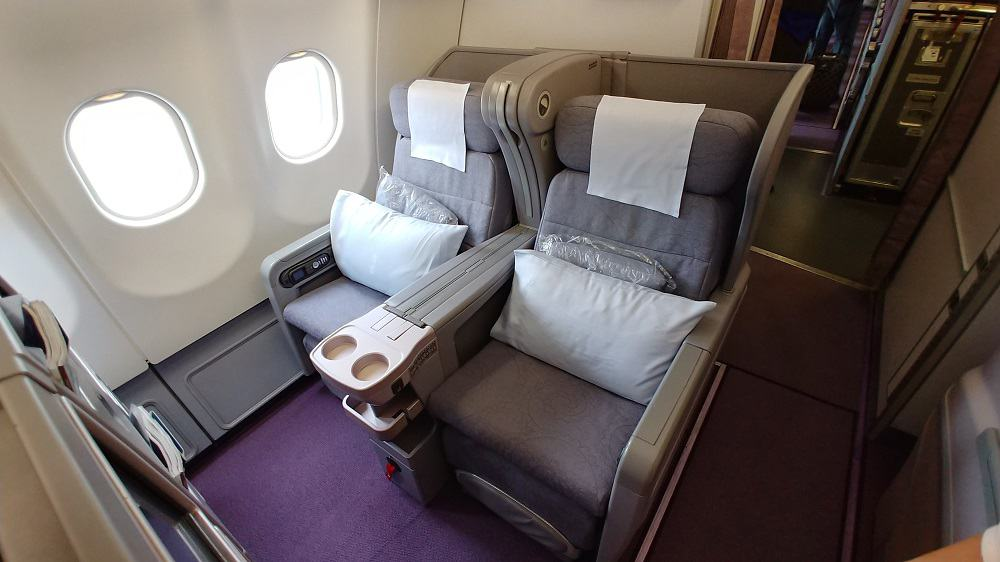 China Airlines A330 Business Class Seats