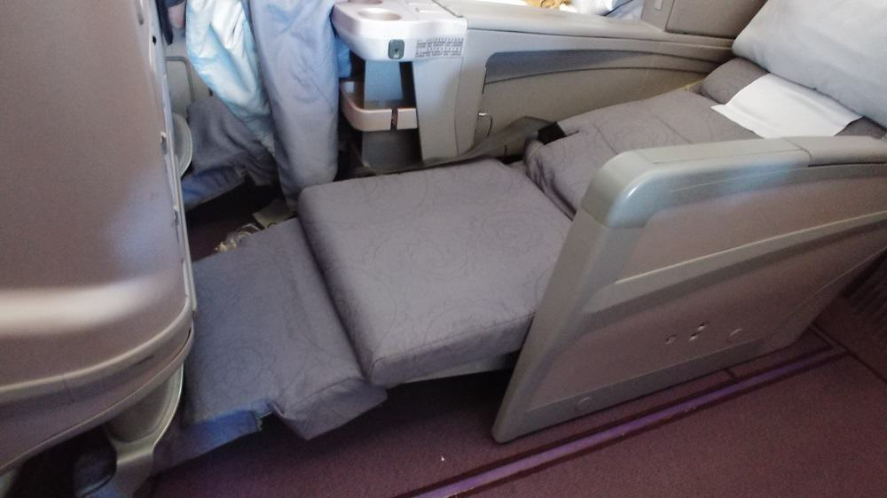 China Airlines A330 Business Class Seat Lie Flat