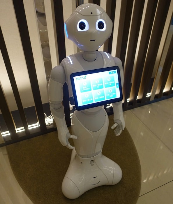 EVA Air The Infinity Lounge Robot