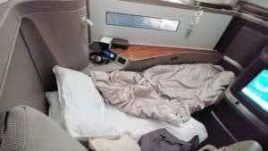 Cathay Pacific 777-300ER First Class Lay Flat Seat
