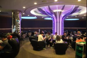 EVA Air The Infinity Lounge Decor