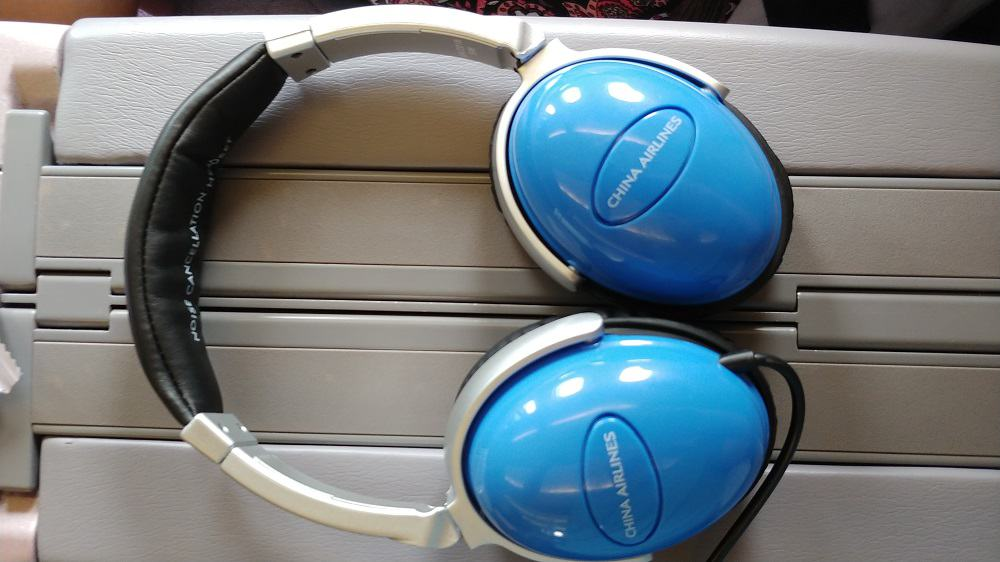 China Airlines Business Class Headphones