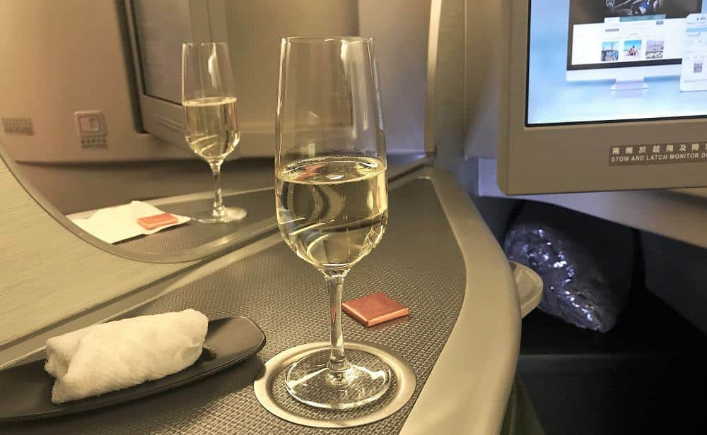 EVA Air Champagne