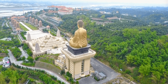 World's Largest Sitting Buddha