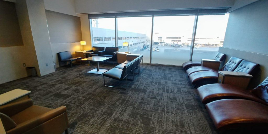 AA LAX Flagship Lounge Relaxation Room