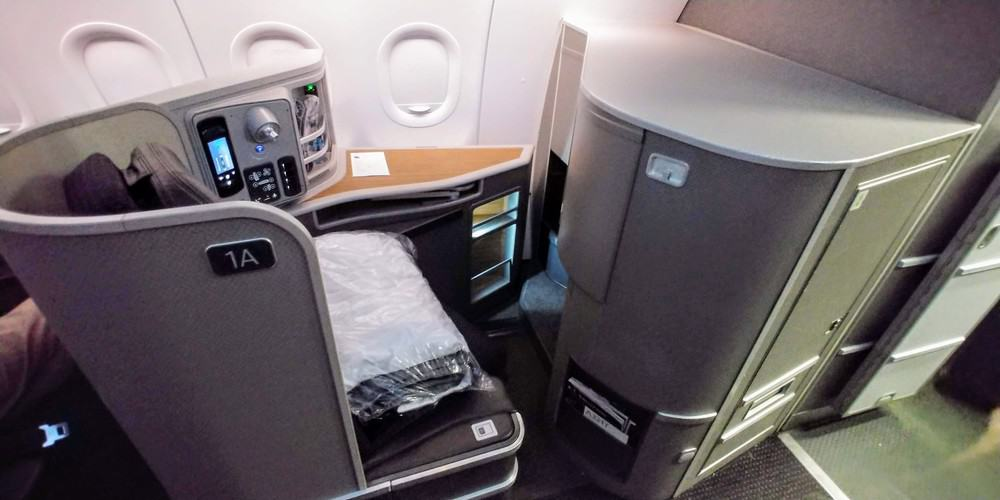 AA A321 first class seat