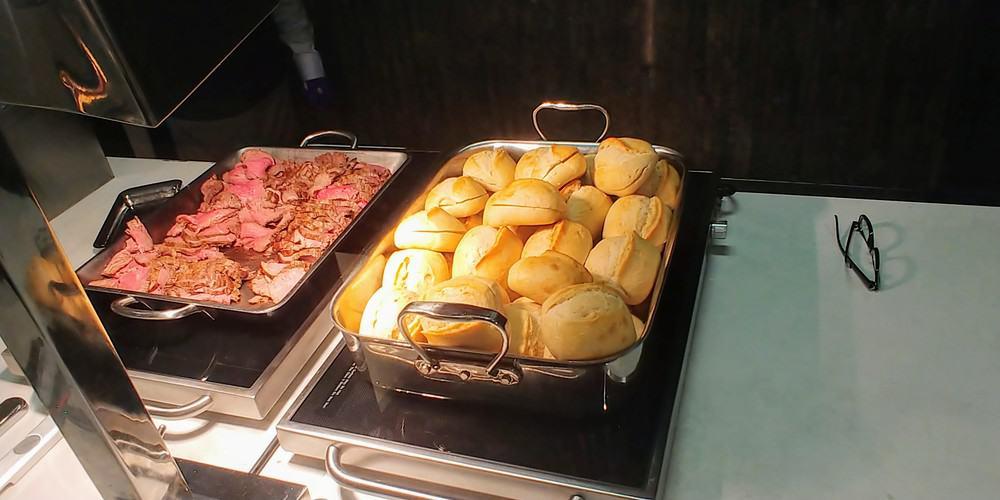 Flagship Lounge Food