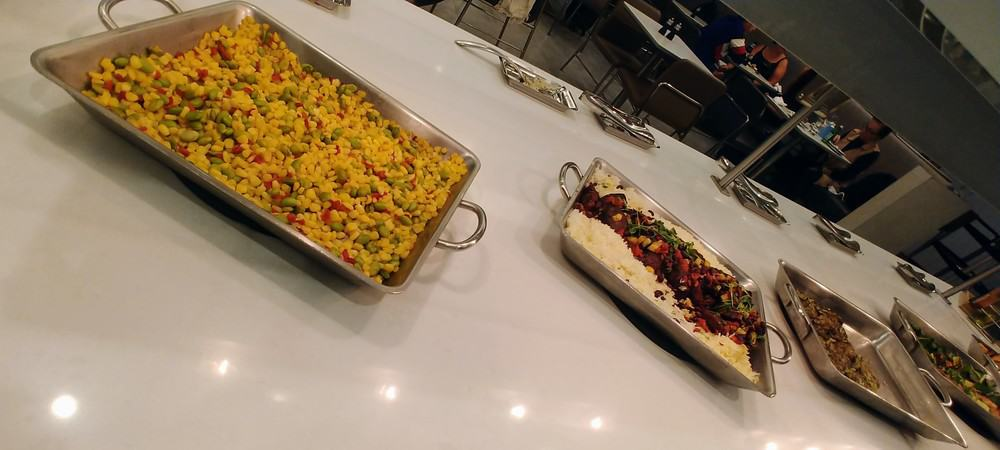 AA Flagship Lounge Food