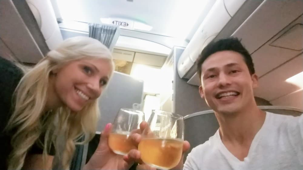 AA First Class Champagne Cheers