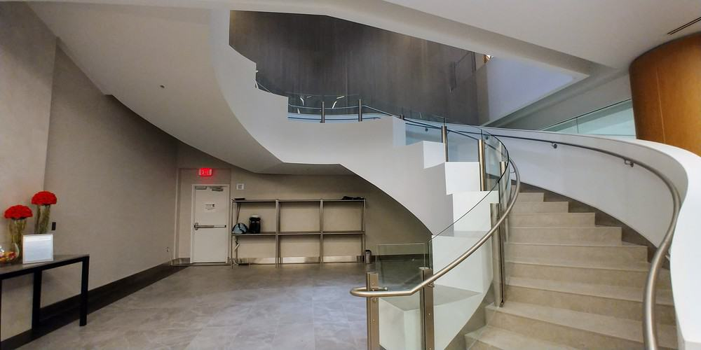 American Flagship Lounge Stairs