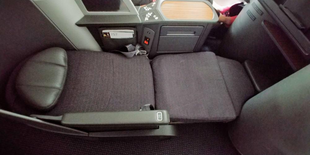 AA Domestic First Class 757 Lie Flat Seat