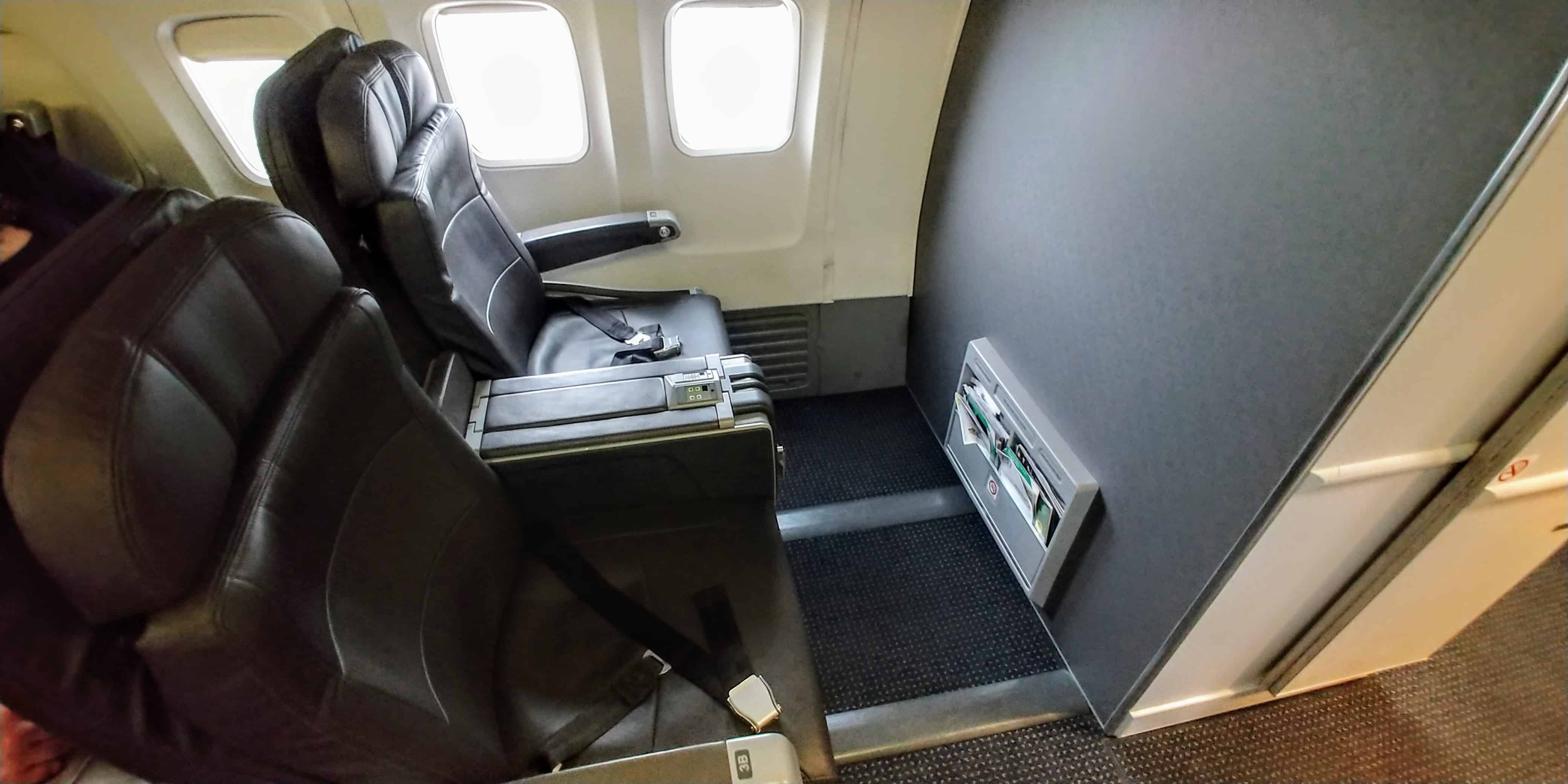 AA Domestic First Class Seat