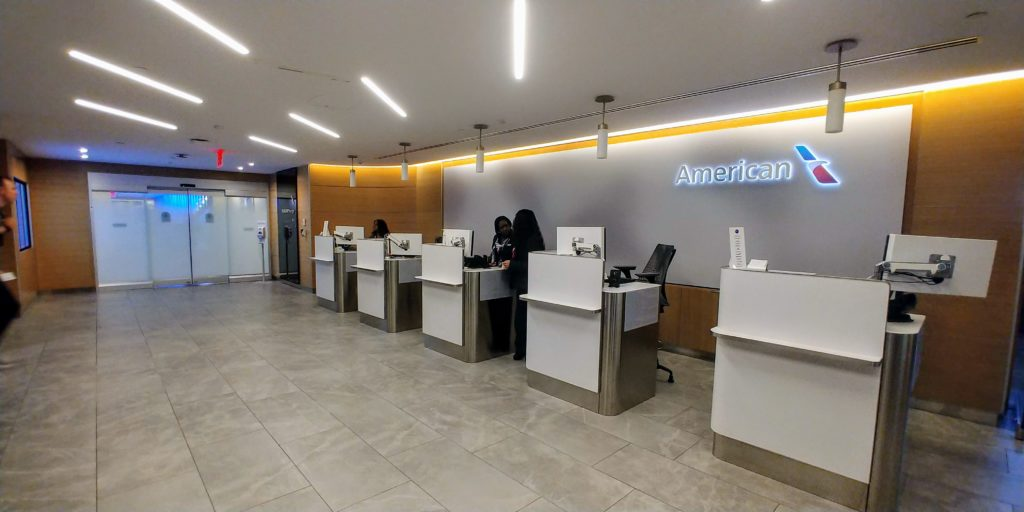 Main Entrance to Both Flagship and Admirals Club