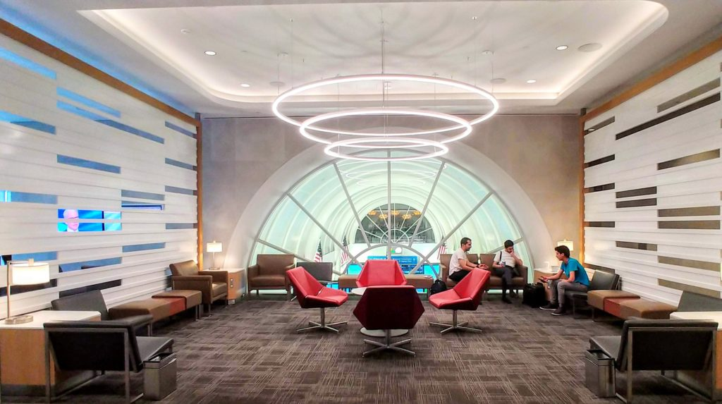 American Airlines Flagship Lounge LAX Seating