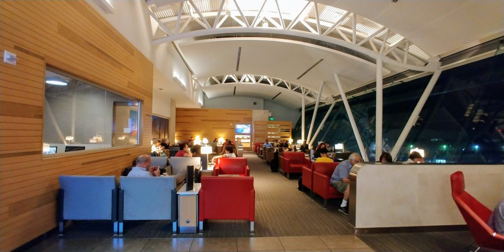 Admirals Club Lounge LAX Seating