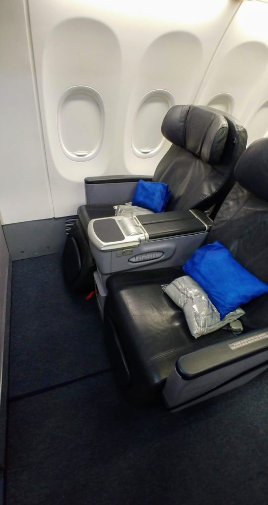 Business Class Seats 737-800 Copa Airlines