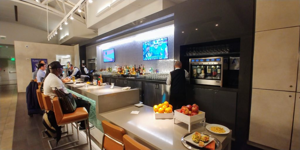 American Airlines Admirals Club Lounge Bar