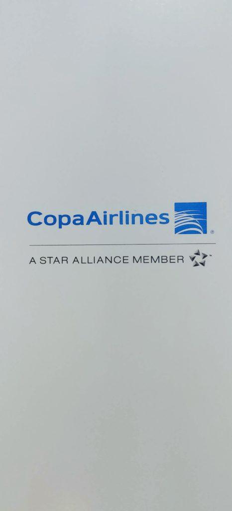 Copa Airlines Menu