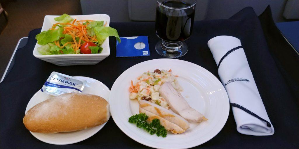Waldorf Chicken Salad Copa Business Class