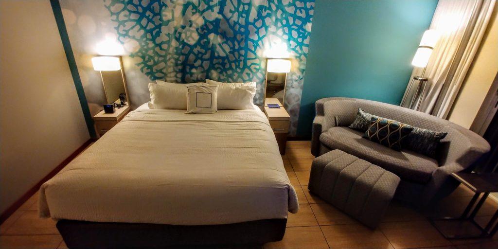 Courtyard Bonaire King Island Room Bed