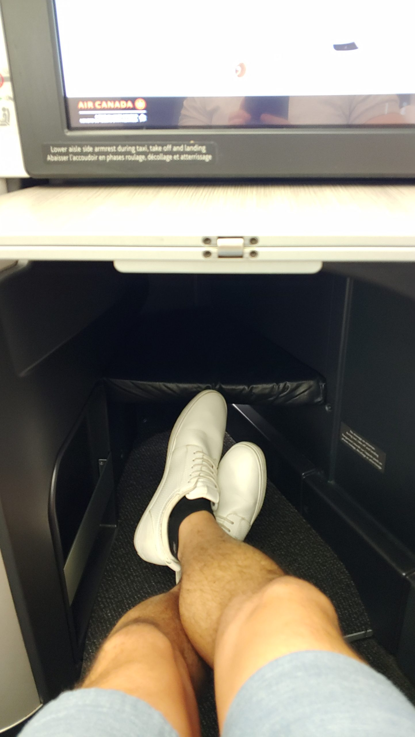 Business Class Foot Space