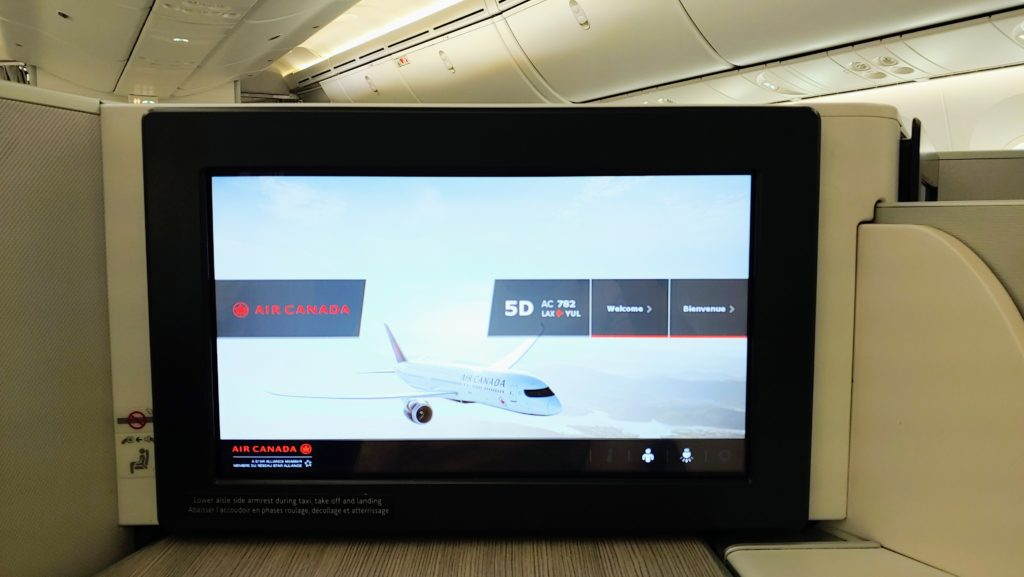 IFE Monitor 789 Dreamliner