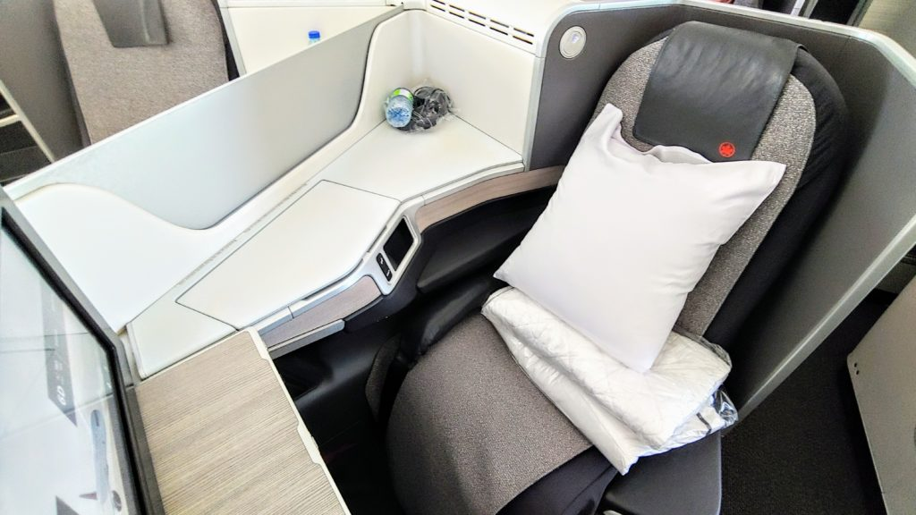 Business Class Seat Air Canada 789 Dreamliner