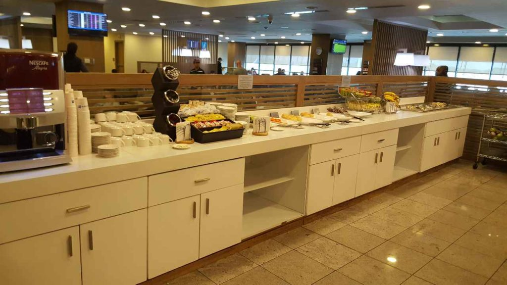 Copa Air Business Class Lounge Food