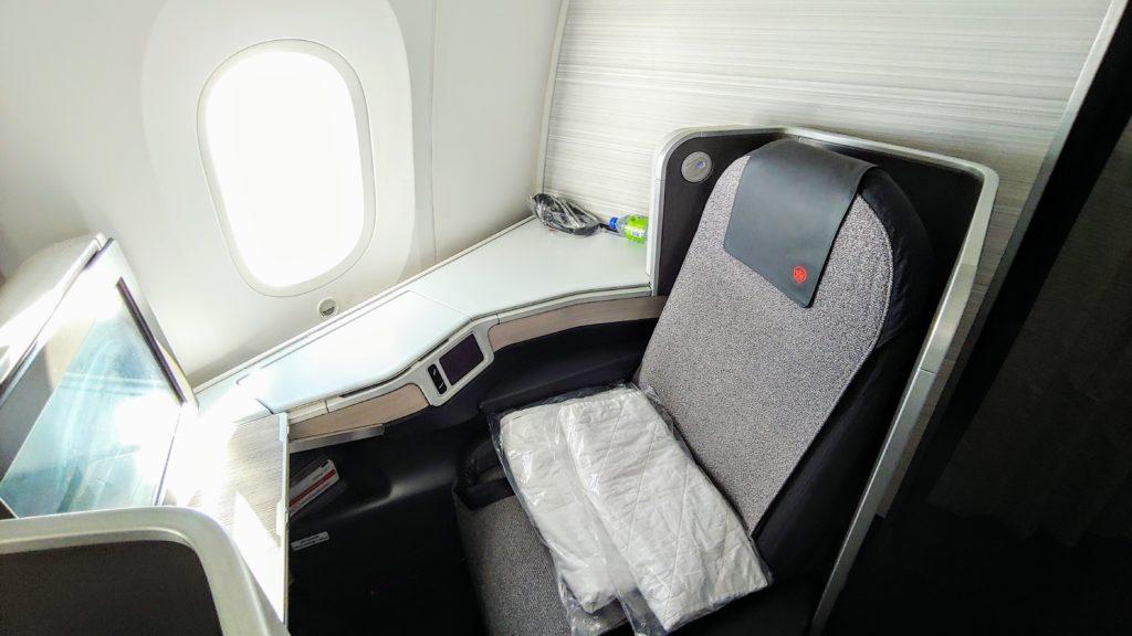 Window Seat 787-9 Air Canada