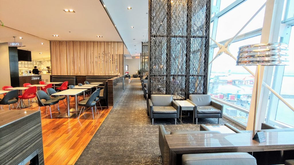 Lounge Area Air Canada Maple Leaf Lounge Montreal