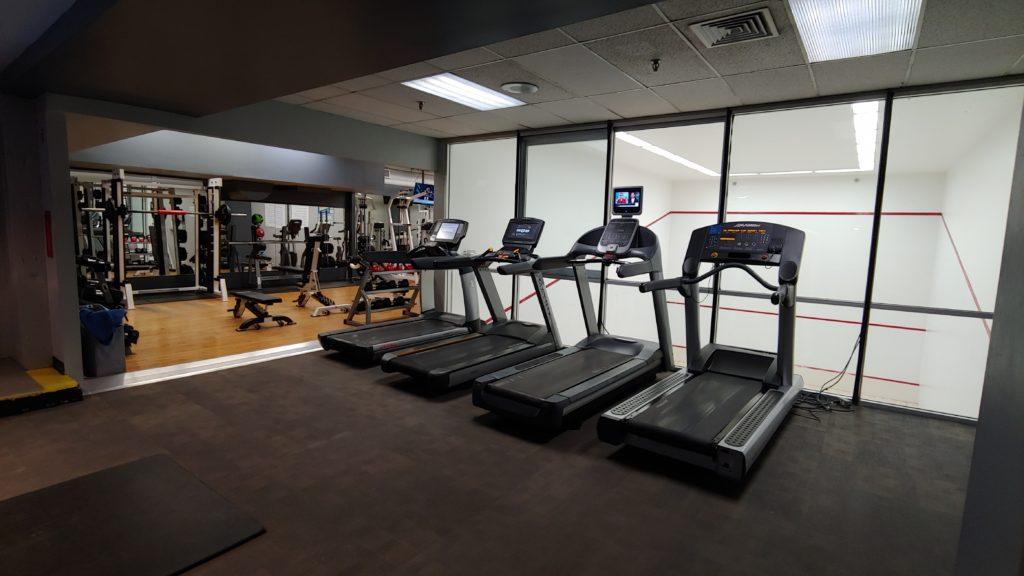Gym Treadmills Delta Hotel Montreal